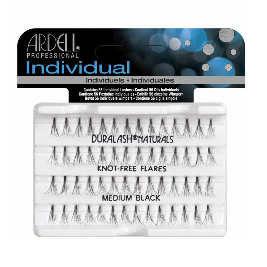 Ardell Professional Individual: Knot Free Flares medium black