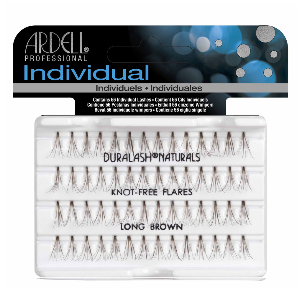 Ardell Professional Individual: knot free flares long brown
