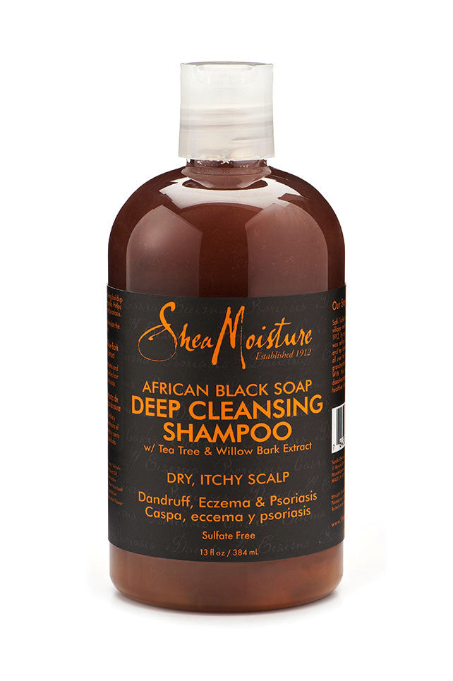 Shea Moisture African Black Soap Deep Cleansing Shampoo