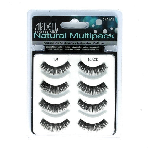 Ardell Professional Natural multipack: 101 demi black