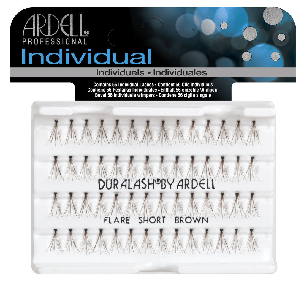 Ardell Professional Individual: flare short brown