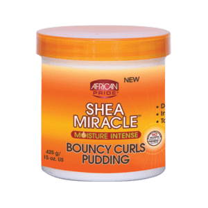 African Pride Shea Miracle Bouncing Curls Pudding