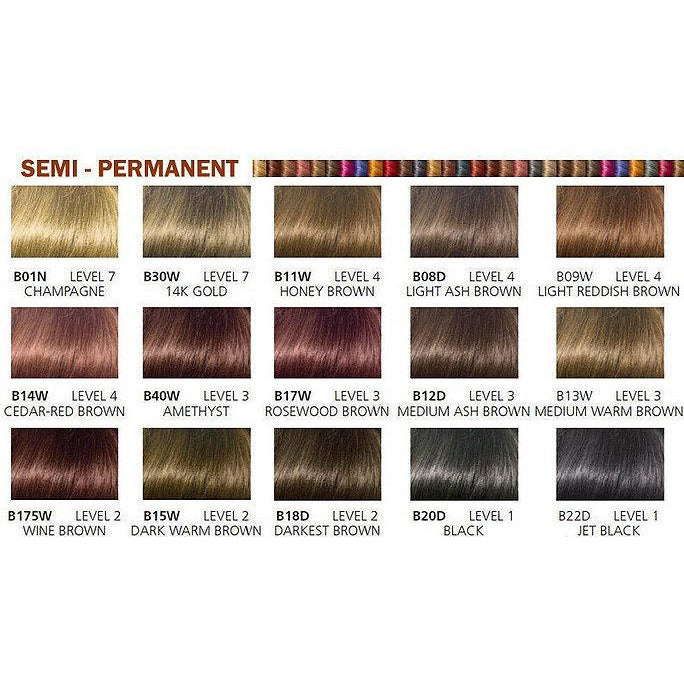 Beautiful Collection Semi-Permanent Color Jet Black