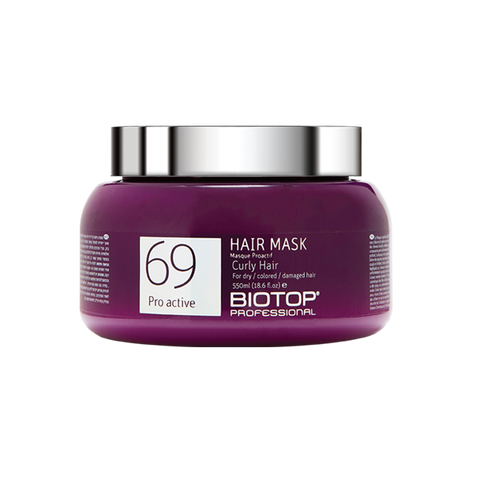 Biotop Professional 69 Proactive Curly Hair Mask 550ml