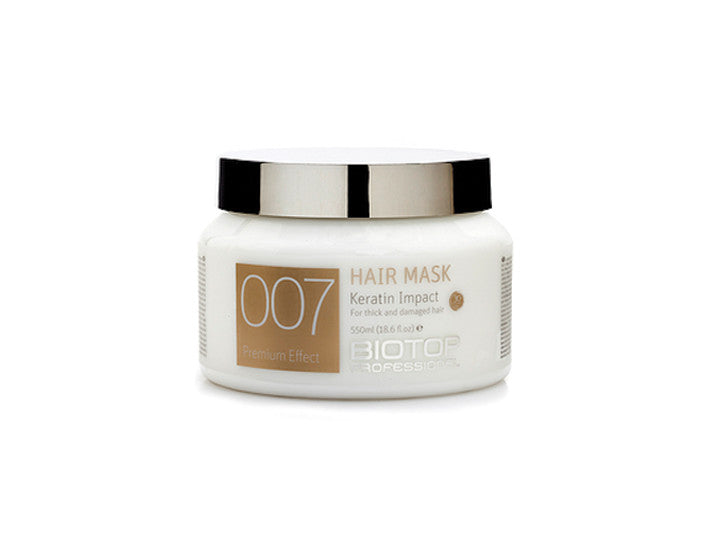 Biotop Professional 007 Keratin Impact Hair Mask 550ml