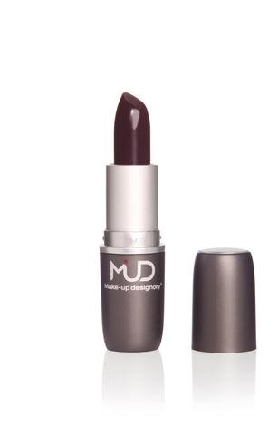 MUD Sheer Lipstick Eggplant