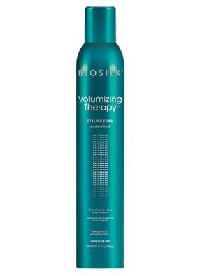 Biosilk Volumizing Therapy Styling Foam Medium Hold 12.7oz