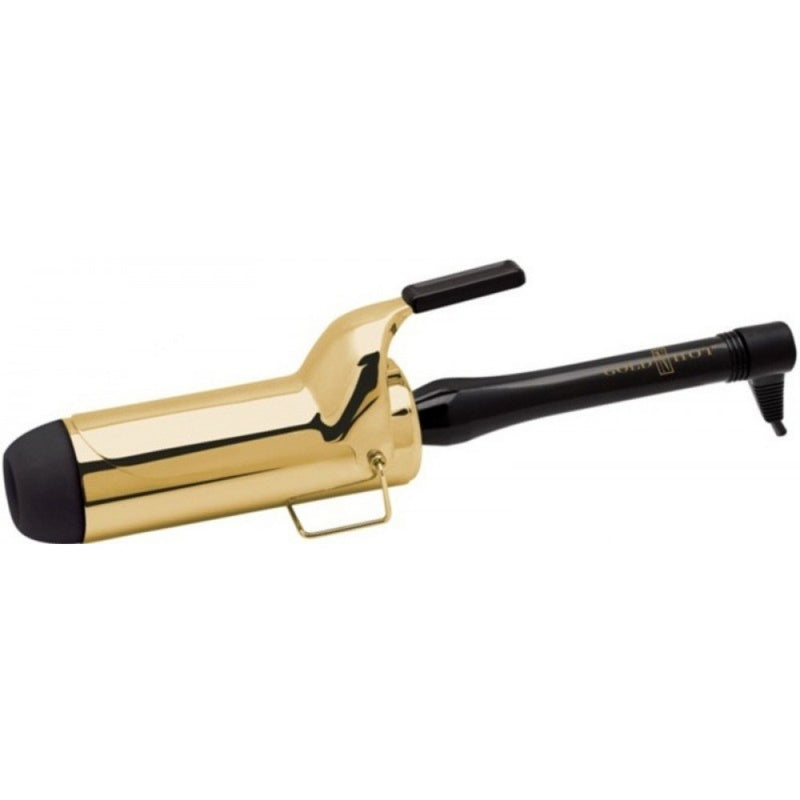 "Gold N Hot 2"" Colossal Curl  Professional Spring Curling Iron"