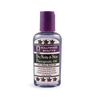 Hollywood Dry Scalp & Skin Therapeutic Oil 2 oz