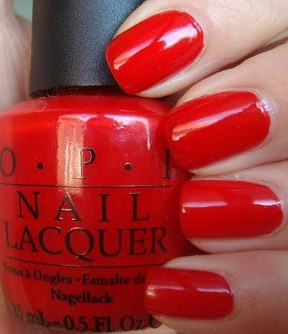 OPI Nail Lacquer Big Apple Red