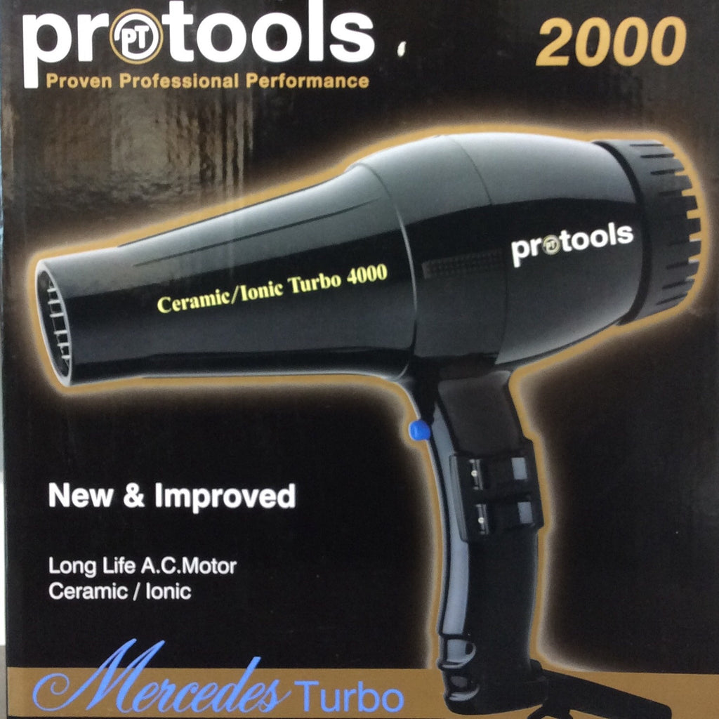 Pro tools Mercedes Turbo Dryer 2000 Black