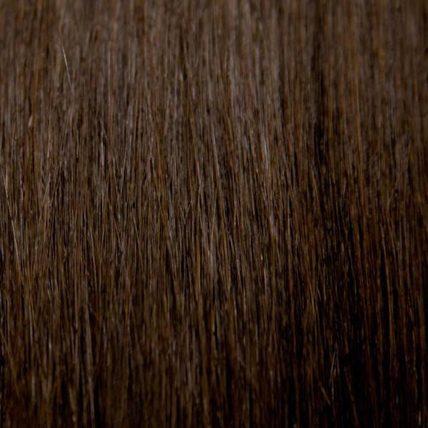 "18"" 100% Human Hair Extension color 2"