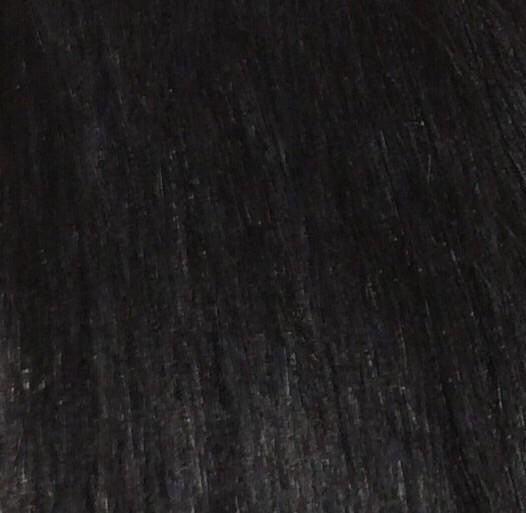 "18"" 100% Human Hair 7pcs Clip-In  Color 1B"