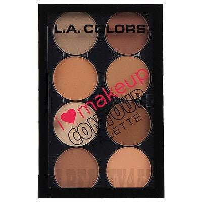 L.A Colours Contour Palette Medium-Deep
