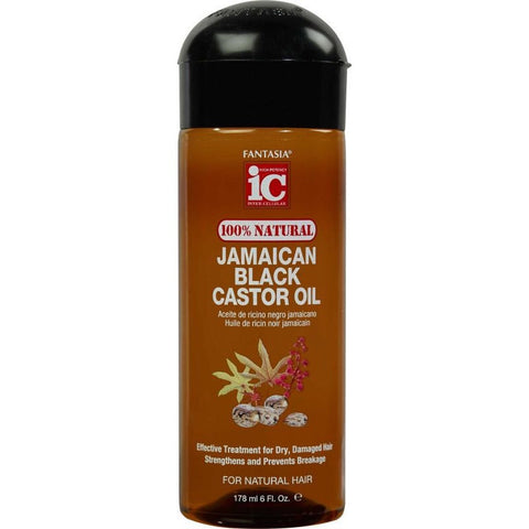 Fantasia 100% Natural Jamaican Black Castor Oil 6oz