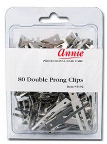 Annie double prong clips #3192