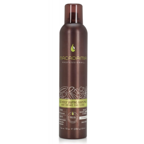 Macadamia Flex Hold Shaping Hairspray 10oz