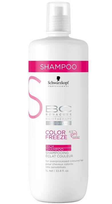 Schwarzkopf Professional Bonacure Color Freeze Rich Shampoo 1L