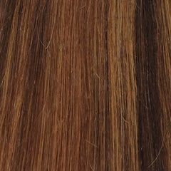 "15"" 100% Human Hair Extension 9pcs color P4/27/30"