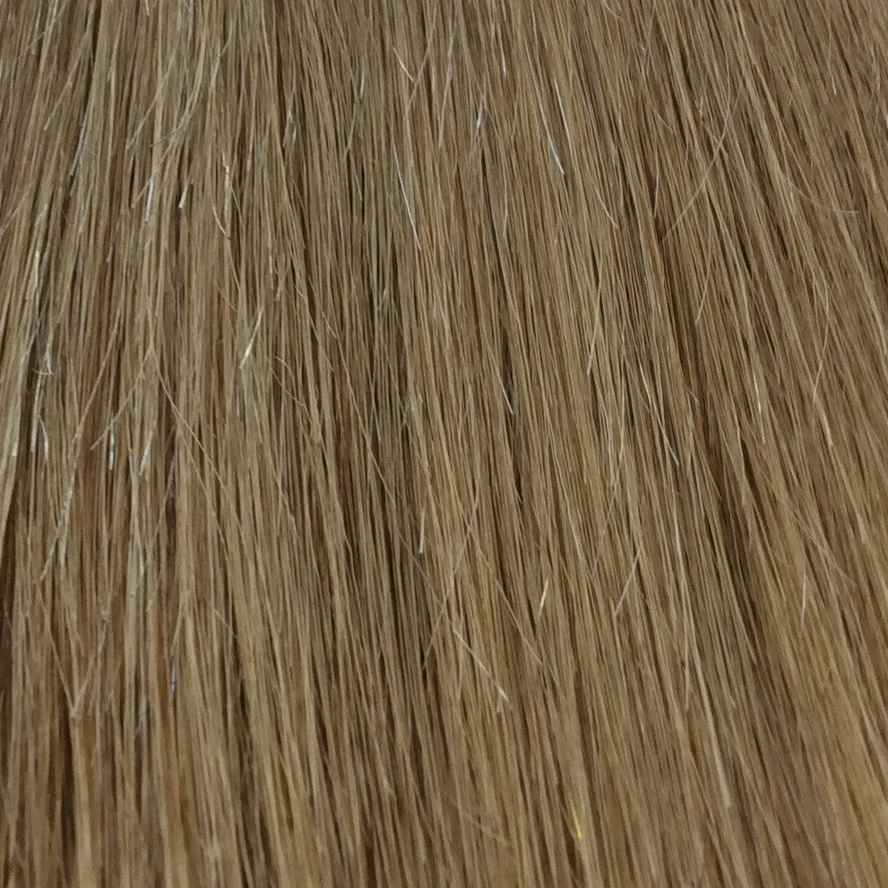 "18"" 100% human hair 9clip-in color 27"