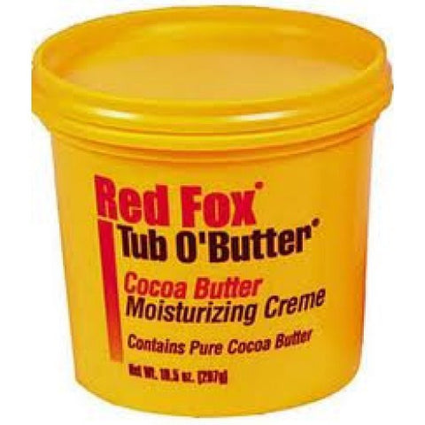 Red Fox Tub O'Butter Cocoa Butter 10.5oz