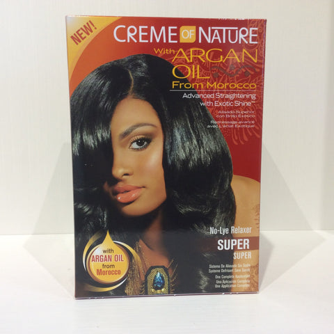 Creme of Nature Advanced Straightening