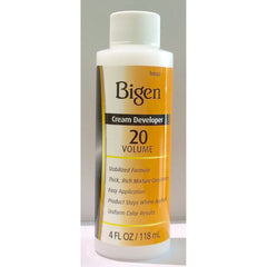 Bigen Cream Developer 20 Volume 4oz