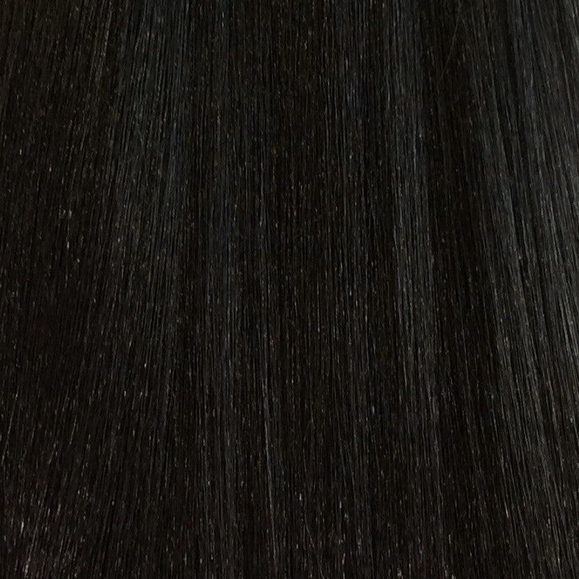 "18"" 100% Human Hair Extension 7pcs color 2"