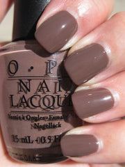 OPI Nail Lacquer Over the Taupe