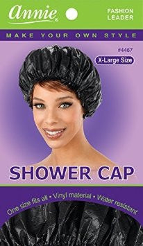 Annie Shower Cap #4467 black