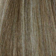 "22"" 100% human hair 9clip-in color P6/613"