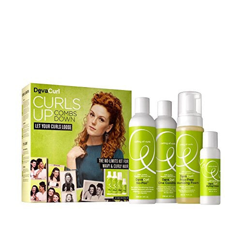 DevaCurl No-Limits Kit For Wavy & Curly Hair