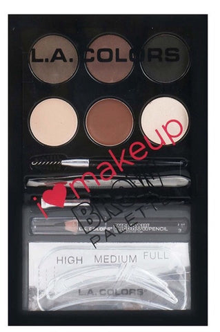 L.A Colors Brow Palatte Medium to Dark