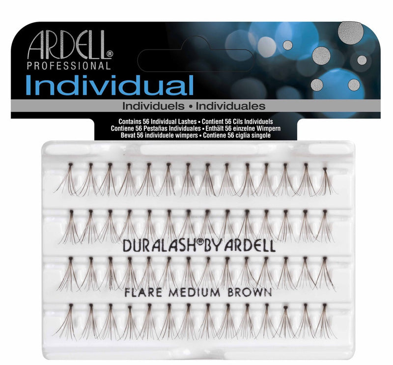 Ardell Professional Individual: flare medium brown