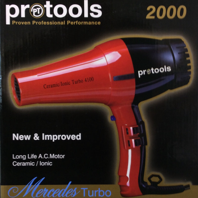 Pro tools Mercedes Turbo Dryer 2000 Red