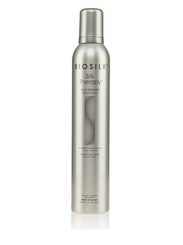 Biosilk Silk Therapy Silk Mousse Medium Hold 12.7oz