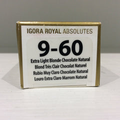 Schwarzkopf Igora Royal Absolutes: 9-60