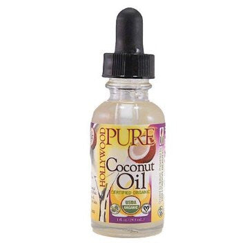 Hollywood Pure Organic Oils Coconut Oil