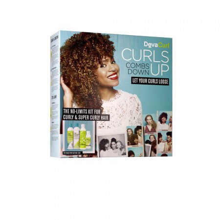 DevaCurl No-Limits Kit For Curly & Super Curly Hair