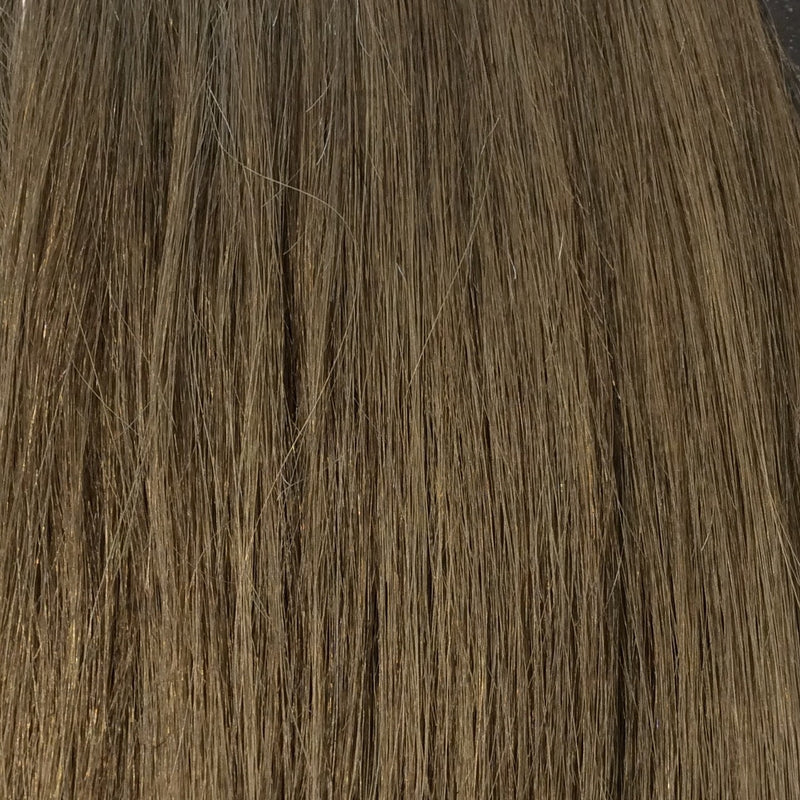 "14"" 100% Human Hair Extension Color 8"