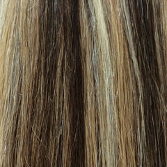 "20"" 100% Human Hair Extension color P4/27/613"