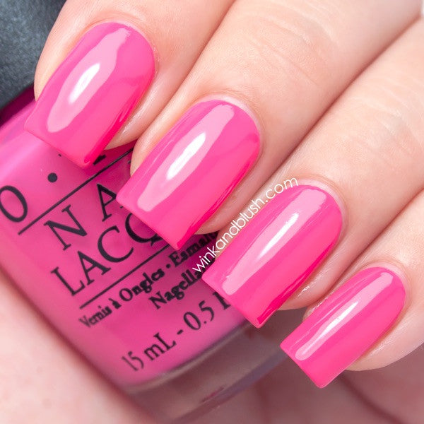 Opi Nail Lacquer Strawberry Margarita The Beauty Emporium