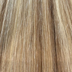 "20"" 100% Human Hair Extension color P6/613"