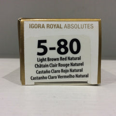 Schwarzkopf Igora Royal Absolutes: 5-80