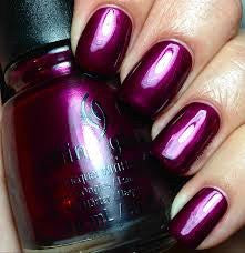 China glaze don't make me wine