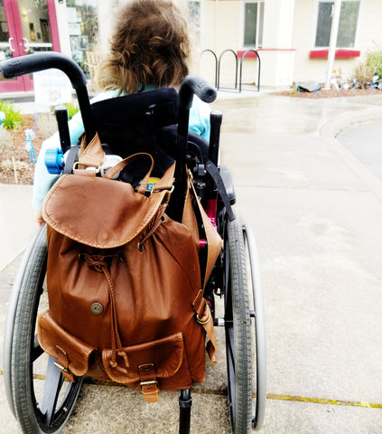 What's in my bag - Our Disabled Life / Special Needs Parenting