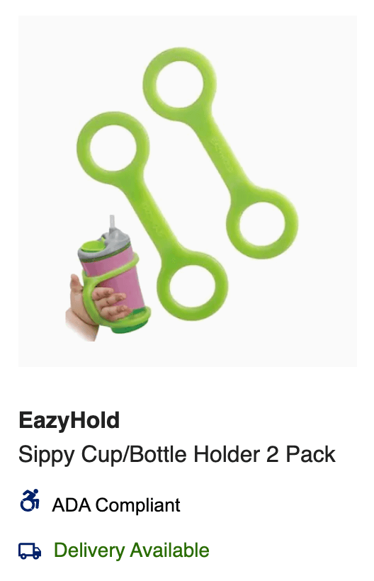 Sippy Cup EazyHold