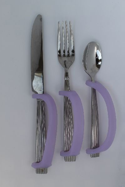 EazyHold, forks and knives and spoons.