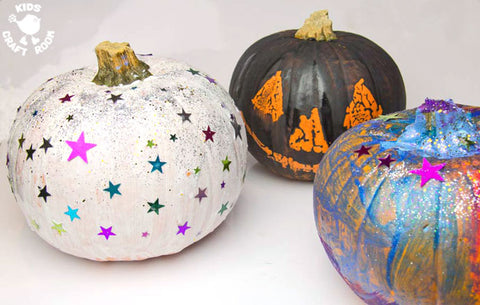 painted pumpkins a carving alternative