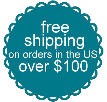 free shipping on orders in the United States over $100